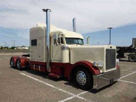 peterbilt 379 extended custom 2001 sleeper semi