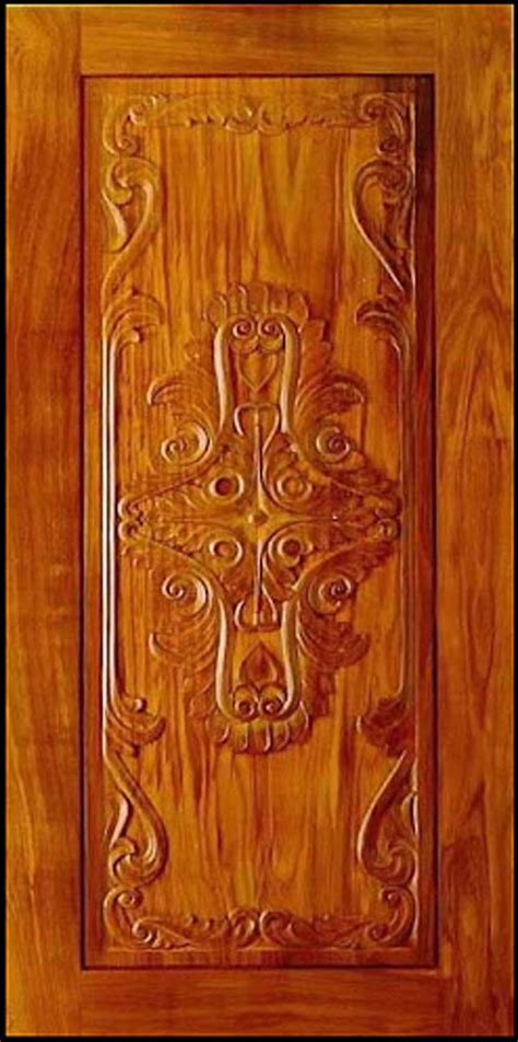 Wood Front Door Designs Front Door Pictures Kerala Model Wood Dsigns Wood Design Ideas