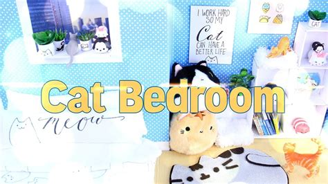my froggy stuff how to make a bedroom diy how to make dollhouse cat room handmade doll