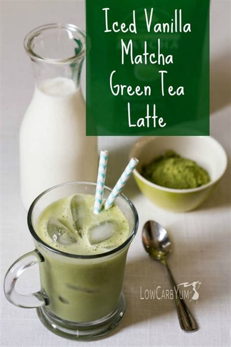 Green Coffee Latte how to make a matcha green tea latte low carb yum
