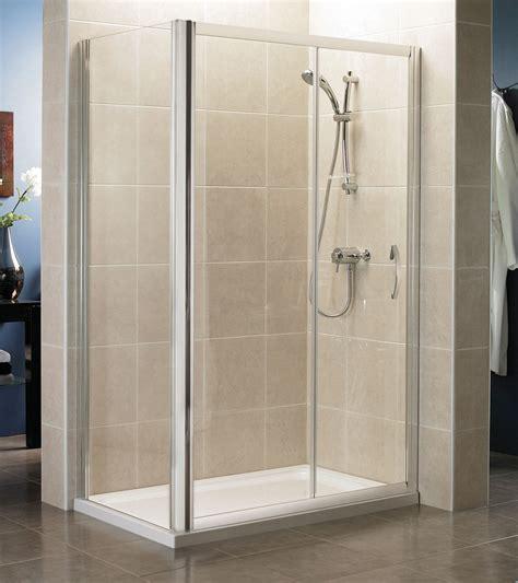 April Shower Doors April Identiti2 Sliding Shower Door 1600mm Silver Ap9482s