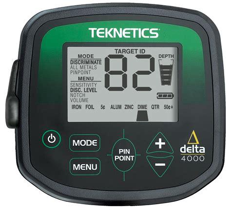 teknetics delta 4000 teknetics delta 4000 metal detector