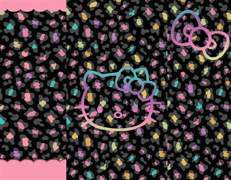wallpaper hello kitty black and pink hello kitty wallpapers pink and black wallpaper cave