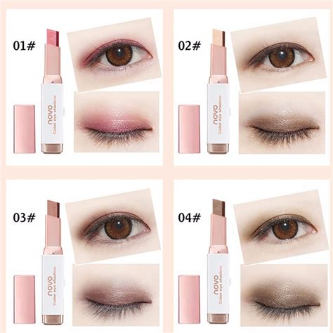 Eyeshadow Novo novo color eye shadow stick gradient colors makeup