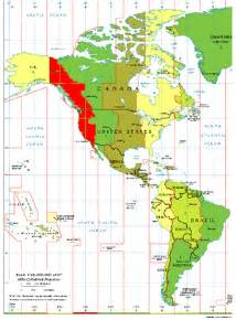 us time zone offset pacific time zone