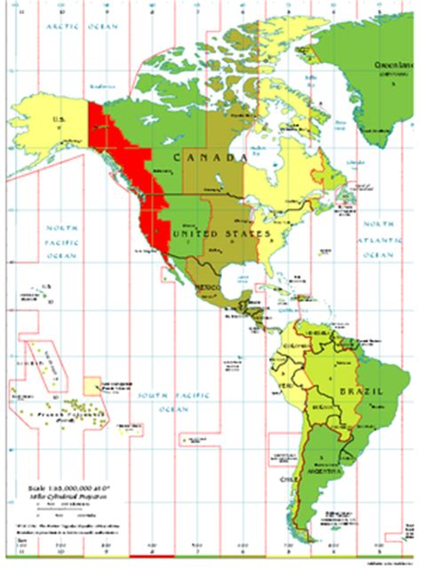 pacific time zone map pacific time zone