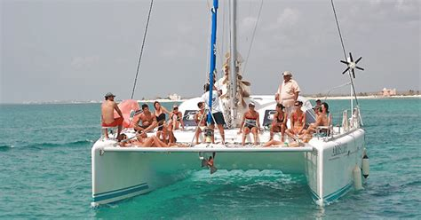 catamaran mexico catamaran sailboat rental in playa del carmen mexico