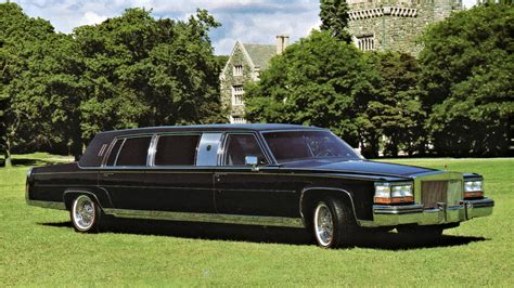 cadillac limousine the original donald limo the 1989 cadillac