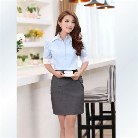 uniforme blusas para damas dise 241 os para uniformes de oficina imagui