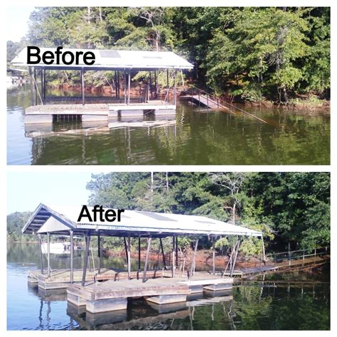 boat repair upstate sc custom dock systems builds quality boat docks boat lifts