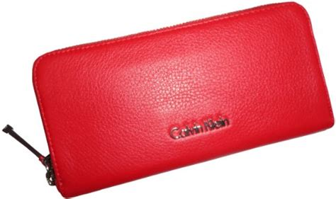 Branded Calvin Klein Embossed Leather Wallet Gck09 Original Usa s calvin klein zip around leather wallet handbags choice