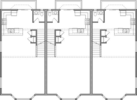retail space floor plans triplex house plans d 468 mixed use house plan condo plans