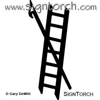 fireman ladder 001 = : signtorch, turning images into