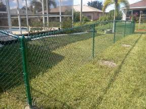Green Trellis Fencing Green Chain Link Fence