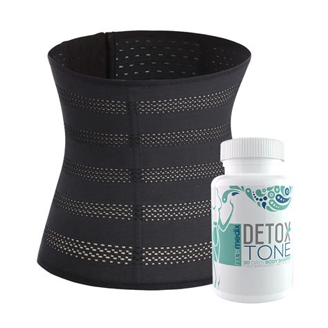 Detox Per Pack by Waist Trainer Detox Tone Pack Benessere Fisico