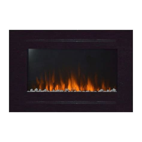recessed electric fireplaces touchstone 80006 forte 40 inch recessed wall mounted