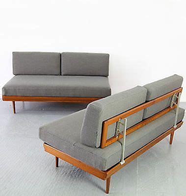 retro danish modern daybed sofa mid century modern teak sofa www energywarden net