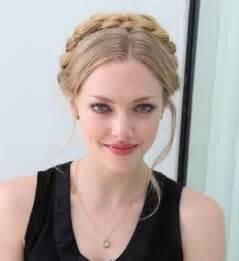 Amanda seyfried hairstyles braided updo pretty designs