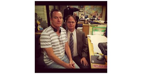 bryan cranston director office rainn wilson let temporary director of the office bryan