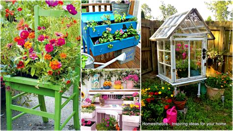 Upcycled Garden Furniture Ideas 13 Upcycled Furniture Ideas For Your Home And Garden Homesthetics Inspiring Ideas For Your Home
