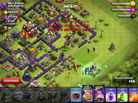 coc funniest attacks coc attack strategy