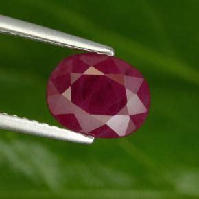 Ruby 3 1ct ruby 3 1ct oval from myanmar burma gemstone