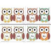 Ordinal Numbers 1 10 Clipart  ClipartXtras