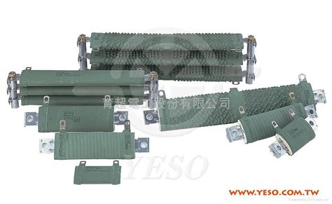 yeso resistors non flammable flat wire wound power resistor taiwan manufacturer