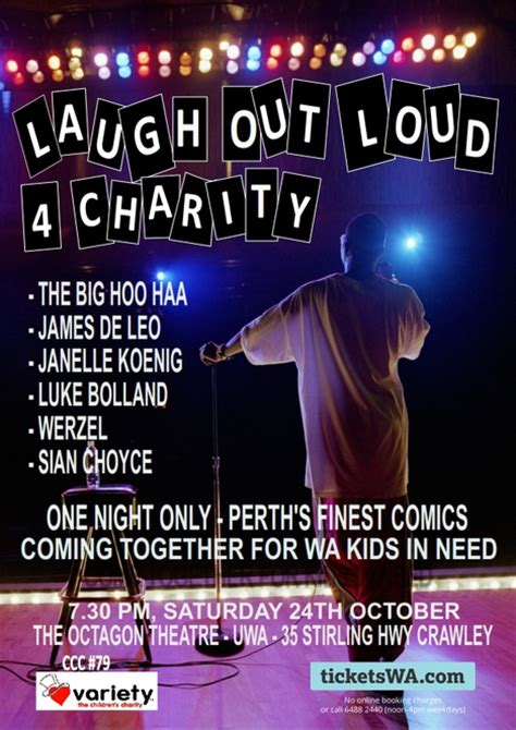 big a laugh out loud comedy laugh out loud for charity perth