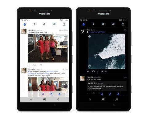 twiter mobile announcing for windows 10 on mobile windows