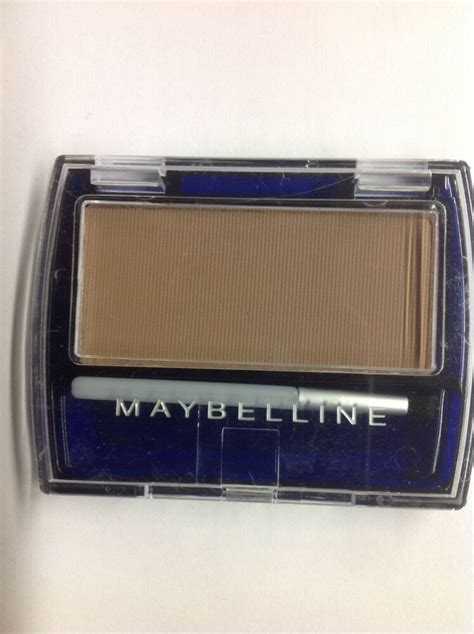 Maybelline Ultra Brow Powder maybelline ultra brow brush on color light brown new