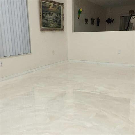 White Pearl Metallic   Epoxy Flooring Jobs   Pinterest