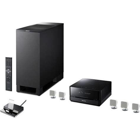 sony dav is10w 5 1 channel home theater micro system davis10 w