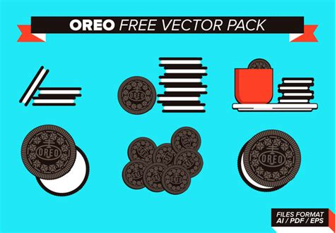 oreo pattern vector oreo free vector pack download free vector art stock