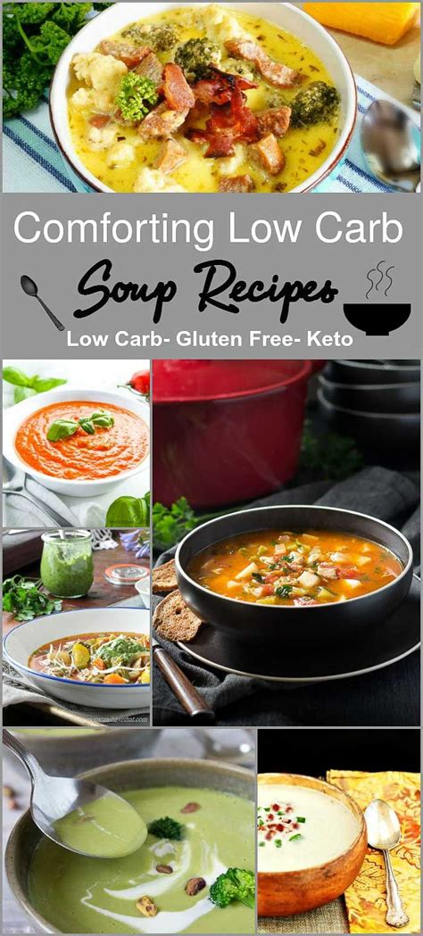 Pdf Soup Comforting Recipes by 17 Best Ideas About Low Carb Food On Atkins