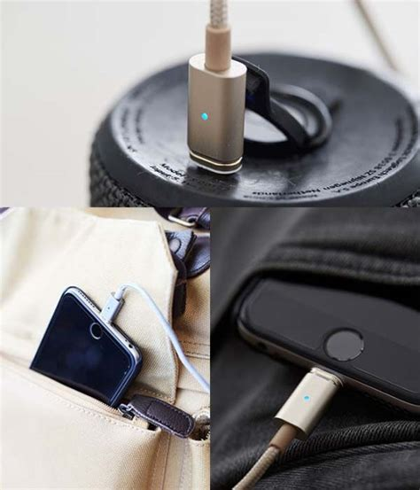 Magnetic Cable For Micro Usb Gold Ca2110 Asap Connect 18k Gold Plated Magnetic Usb Charging Cable