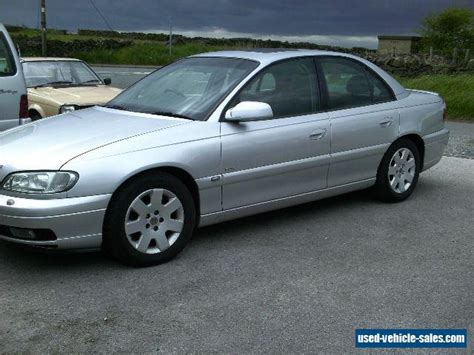 2001 vauxhall omega cdx v6 auto for sale in the united kingdom
