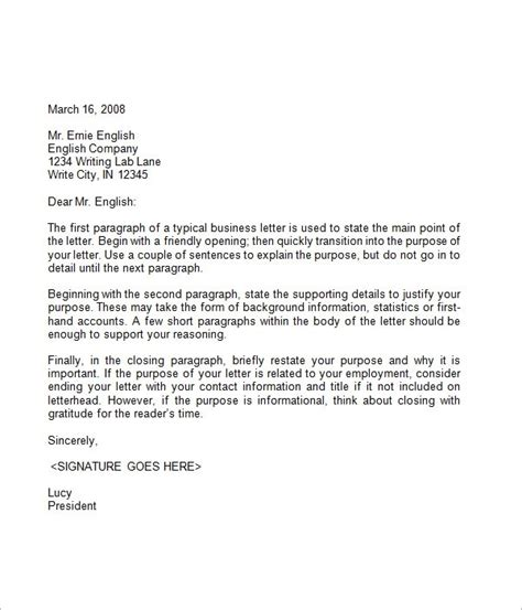 business letter closure sle business closing letter template business