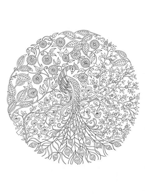 garden mandala coloring pages secret garden artist s edition a pull out and frame