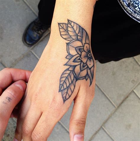 Tattoo For Half Hand | half mandala wrist tattoo