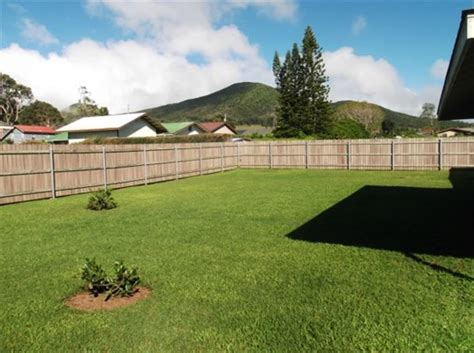 Fenced In Backyard by Value In Kamuela Comfortable Quality Built Home With