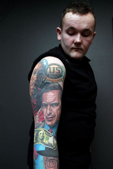 tattoo on jesse s hand breaking bad breaking bad tattoo meet james allan who has amazing
