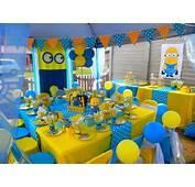 70 Inspira&231&245es  Festas Infantis Dos Minions