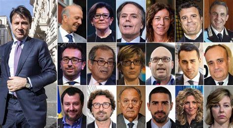 www interno governo it governo conte ecco la lista con tutti i ministri salvini