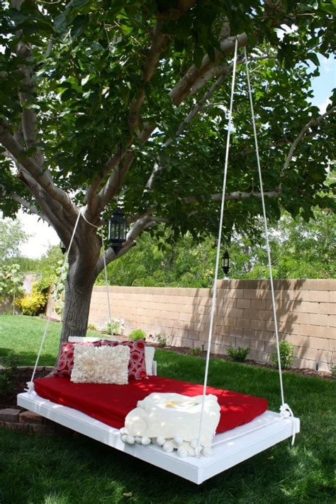 backyard bed 20 hammock quot hang out quot ideas for your backyard garden