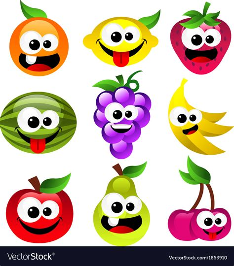 vector stock images fruits royalty free vector image vectorstock