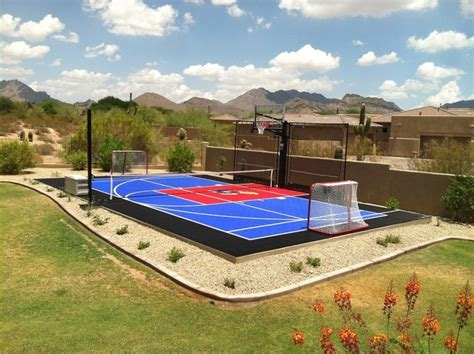 Backyard Ideas Sports Sport Court Ideas