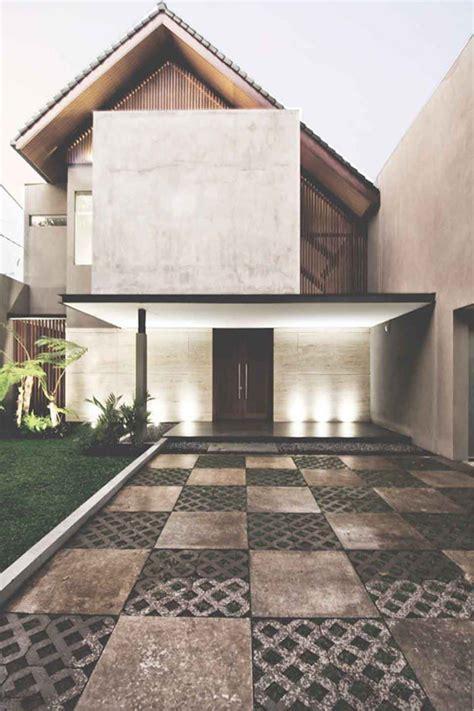inspirasi fasad rumah kekinian