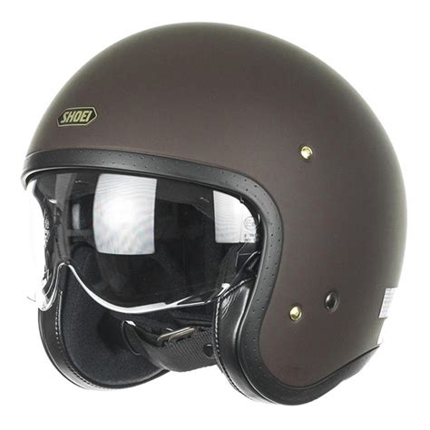 Helm Shoei Jo Jual Helm Shoei Jo Matt Brown Dilengkapi Visor Adjustable