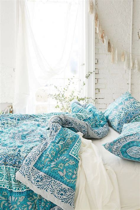 Turquoise Bed Covers 25 Best Ideas About Turquoise Bedding On Teal